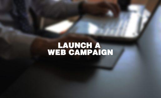 Launch a Web Campaign